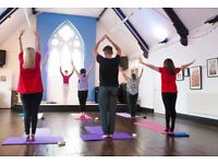 Hatha Yoga weekly classes and monthly workshops with BWY teacher in Aylestone, Leicester