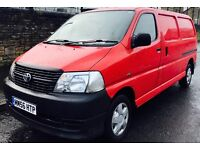 **LOW MILES+NEW SHAPE** TOYOTA HIACE 2.5 D4-D LWB + FULY SERVICED- T BELT DONE + 2 OWNER + IMMACULAT