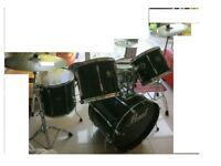 pearl export series******drum kit, ***full set,*****. 4 cymbals ,stool, stick****
