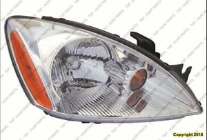 Head Light Passenger Side Chrome Bezel Exclude Ralliart Mitsubishi Lancer 2004-2007