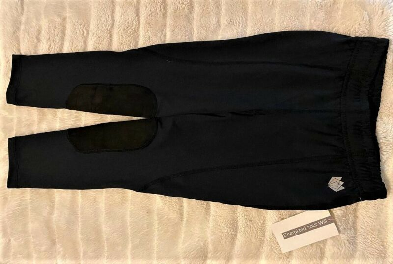 FitsT4 kids riding breeches - NWT - Black - small