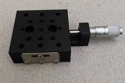 2.2 Thorlabs Mt1 Single-axis Translation Stage With Standard Micrometer