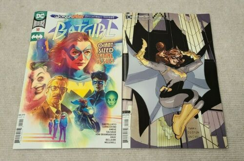 Batgirl 50  Cover A and Cover B   Lot of 2  1st Ryan Wilder