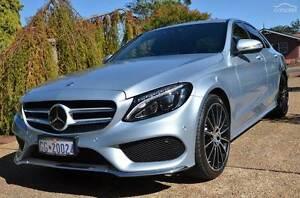 LOW KM 2015 Mercedes-Benz C250 Blue Tec Sedan - Diamond Silver Parkinson Brisbane South West Preview