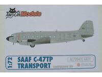 South Africa C-47TP Alley Cat AC72040C AC72032C Basler BT-67 1:72 Conversion