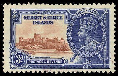 GILBERT & ELLICE 35 (SG38) - King George V Silver Jubilee (pa65950)