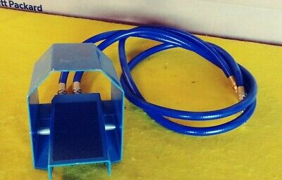 Pneumatic Foot Pedal Air Switch Valve Control Blue