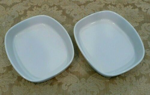 Set of 2 Pfaltzgraff American Airlines First Class Serving Dishes 430 AA73D1095