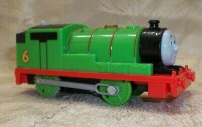Thomas The Train Motorized Percy #6 Toy Mattel 2013 Trackmaster Works