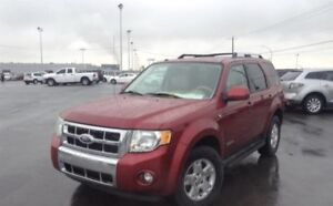 FORD ESCAPE 2008 - 4WD LIMITED LOW MILLEAGE