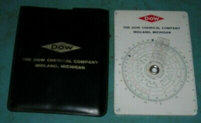 Vintage Dow Table Of Elements With Case