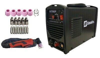 Plasma Cutter Pilot Arc 26 Cons 50amp Simadre 110220v Easy 12 Clean Cut 50dp