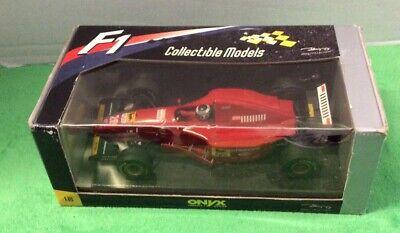 🚘Vintage  Onyx F1 Formula One Diecast 1/18 Ferrari 412T2 Bernard Berger New