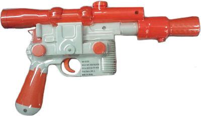 Morris Costumes Authentic Blaster Star Wars Movie Plastic Han Solo Gun. - Authentic Han Solo Costume