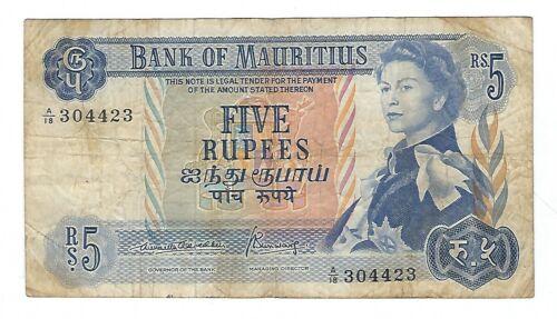 Mauritius - Five (5) Rupees