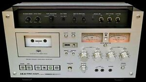Wanted to buy AKAI GXC 570D Cassette Deck Denistone East Ryde Area Preview