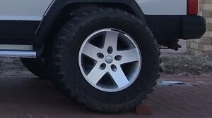 4 x wheels and tyres 265/70/17 Thornlie Gosnells Area Preview