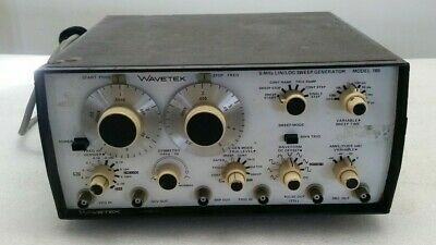 Wavetek Model 185 5mhz Linlog Sweepfunction Generator