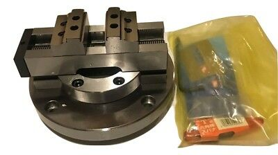 2-inch Vertex 45 Axis Self Centering Cnc Vise Made In Taiwan