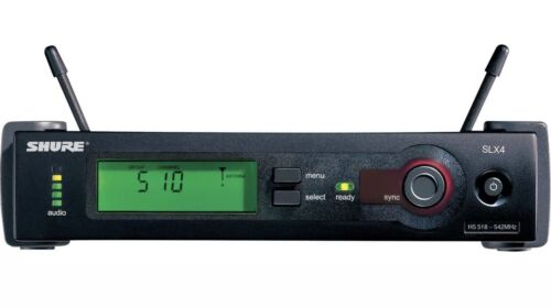 Shure SLX4-J3 Wireless Receiver, J3 572-596 MHz, New Open Box - $200.00