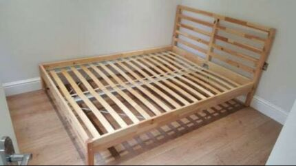 VERY STURDY QUEEN BED FRAME