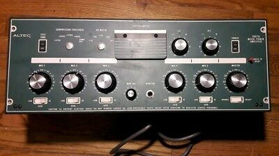 Altec 1607A Mixer Power Amp. Free Shipping. Clean, See pictures.