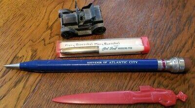 Antique Office Supplies Lot Pencil Pen Letter Opener Pencil Sharpener