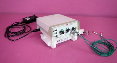 Cook Vascular Blood Flow Doppler W Sensors Dp-m150 Ultrasound System
