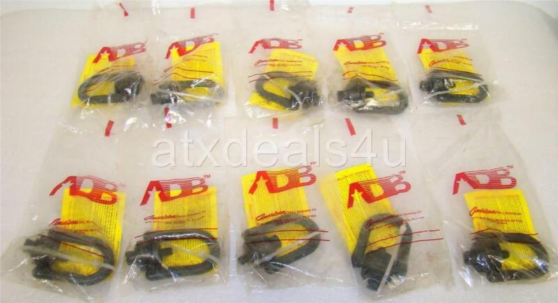 ADB American Drill Bushing CO 33312 HRHD 1K LB 3/8-16.56 TP Hoist Ring Lot of 10