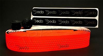 Deda Elementi Mistral Road Bike Handlebar Bar Tape Soft Touch Fluorescent Orange Deda Elementi Handlebar Tape