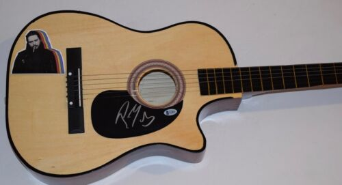 Post Malone Signed Autographed Acoustic Guitar BEERBONGS & BENTLEYS Beckett COA