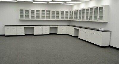 Science Furniture  34 Base 29 Wall Laboratory Cabinets E1-055