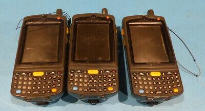 Lot 3 Symbol Mc75a8-pyfswqra9wr Wireless Barcode Scanner Mobile Computer