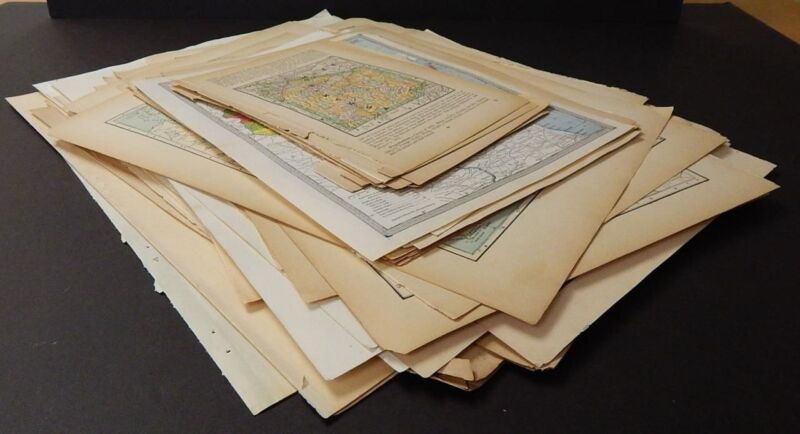 Antique, Vintage Maps, United States, Europe, Over 120 Old Maps! M12
