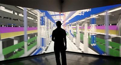 1 PAIR VIRTUAL REALITY EYE GLASSES HEADSET box VR games 3 D videos movies 3D (Virtual Eyeglass)