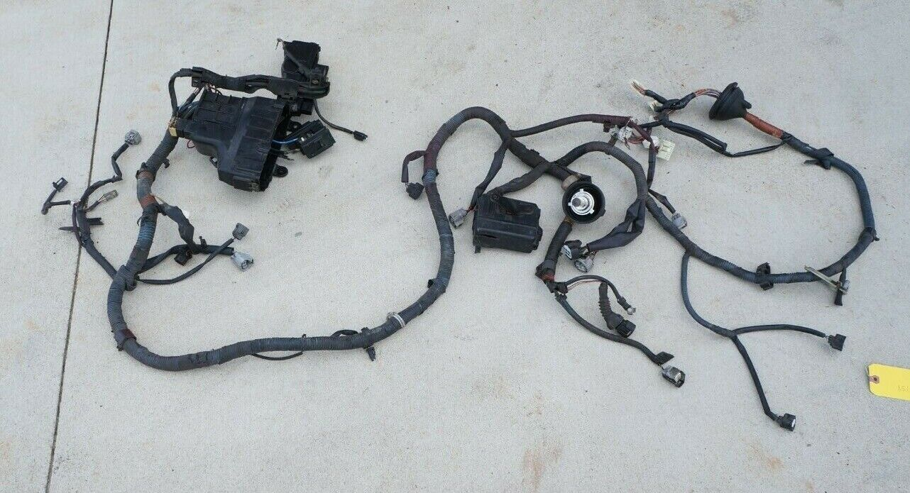 1997-2001 toyota camry oem engine bay radiator support wiring harness