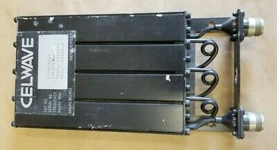 Celwave Uhf Preselector Band Pass Filter Repeater 470 Mhz N Pn 633-4a-lp