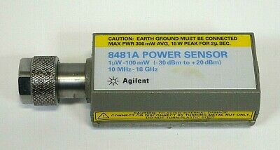 Agilent 8481a - Power Sensor-10mhz-18ghz - Free Shipping