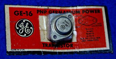 Ge-16 Pnp Germanium Transistor. New Old Stock. H3