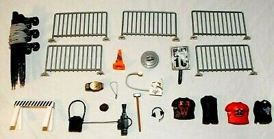Lot WWE WWF Wrestling Ring Accessories Fence Replacement Strings Hammer & More