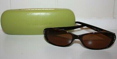 Sigrid Olsen SO209SA Ladies Brown Tortoise & Gold Sunglasses (Olsen Sunglasses)