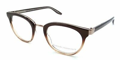 Barton Perreira RX Eyeglasses Frames Paulina 48x22 Maple Ombre / Rose Gold Japan, used for sale  Shipping to India