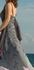 Beaded Gown - Size 8