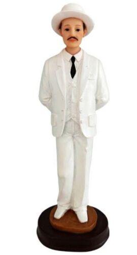 "9"" Dr Doctor Jose Gregorio Hernandez Statue Santo Saint White"