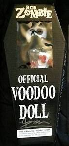 Rob Zombie Signed Voodoo Doll Official Item! Surf Coast Preview