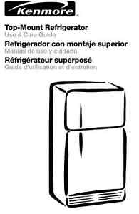 Kenmore Top Mount Refrigerator 20.5 cubic feet (White)