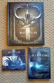 Diablo 3 Reaper of Souls Artbook, Soundtrack & Behind the Scene