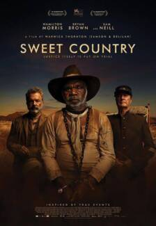 SWEET COUNTRY - Admits 2 - DOUBLE MOVIE PASS/Cinema Ticket