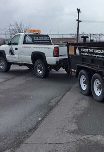 2004 GMC 2500  with boss plow