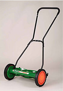 Scotts 18-inch Deluxe Reel Lawn Mower